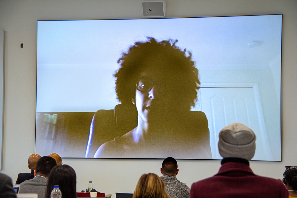 Timnit Gebru at Microsoft Research, New York City by videoconference