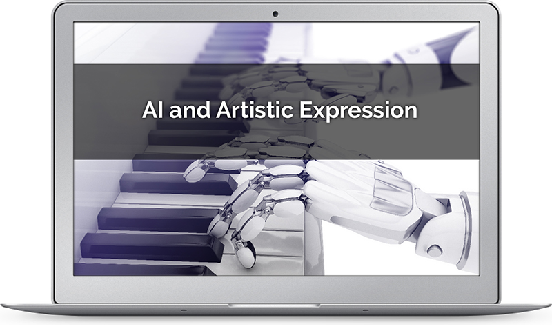 AI image depicting issues in artistic expression