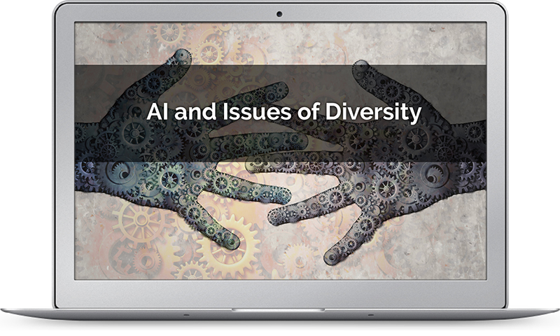 AI image depicting issues of diversity
